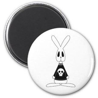 Gothic Bunny Lucien Fridge Magnet