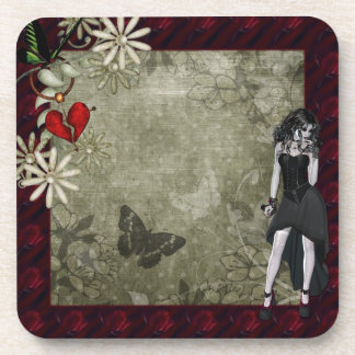 Gothic Butterfly Coasters