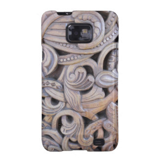 Gothic Carved Wood Weathered Case Galaxy S2 Case