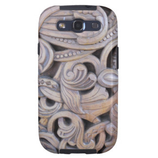 Gothic Carved Wood Weathered Case Samsung Galaxy S3 Covers