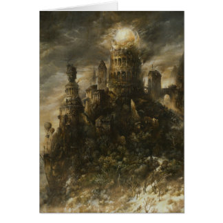 Gothic Castle Note Card