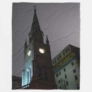 Gothic Church Fleece Blanket