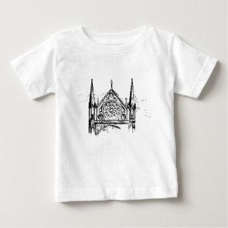 Gothic church painting baby T-Shirt
