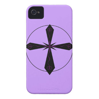 Gothic Cross Blackberry Bold Casemate Case iPhone 4 Case