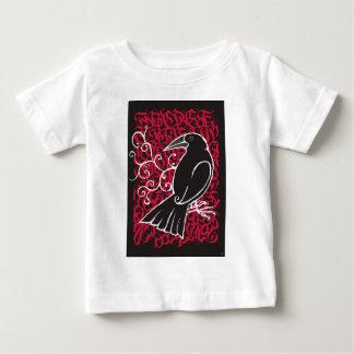 Gothic crow baby T-Shirt