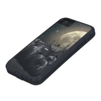 Gothic Crows Tough Xtreme iPhone SE Case
