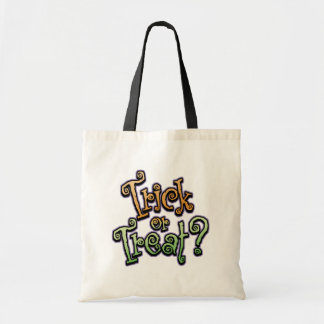 Gothic Curls Trick or Treat Tote Bag - Customized