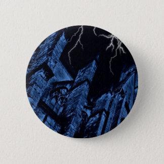 Gothic dark storm 6 cm round badge