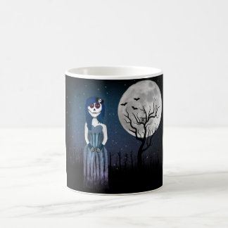 Gothic Day Of The Dead Girl Mug