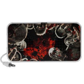 Gothic dead portable speakers