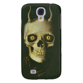 Gothic Devil Skull iPhone 3 Galaxy S4 Cases