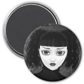 Gothic Doll 7.5 Cm Round Magnet