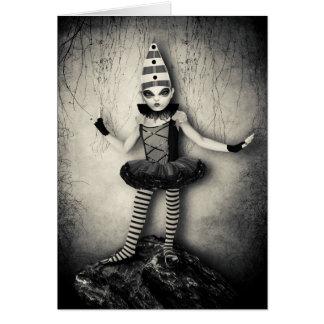 Gothic Doll Card