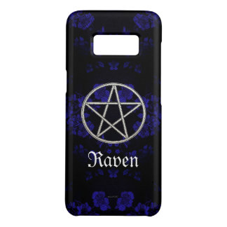 Gothic Eternal Pentacle Blue Case-Mate Samsung Galaxy S8 Case