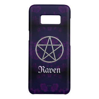 Gothic Eternal Pentacle Purple Case-Mate Samsung Galaxy S8 Case