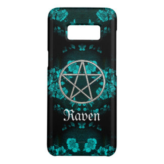 Gothic Eternal Pentacle Turquoise Case-Mate Samsung Galaxy S8 Case