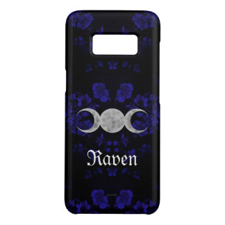 Gothic Eternal Triple Moon Blue Case-Mate Samsung Galaxy S8 Case