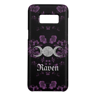 Gothic Eternal Triple Moon Lavendar Case-Mate Samsung Galaxy S8 Case