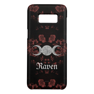 Gothic Eternal Triple Moon Mauve Case-Mate Samsung Galaxy S8 Case