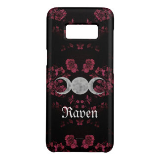 Gothic Eternal Triple Moon Pink Case-Mate Samsung Galaxy S8 Case