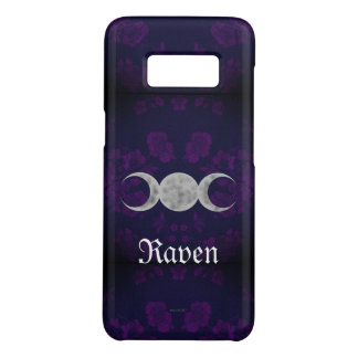 Gothic Eternal Triple Moon Purple Case-Mate Samsung Galaxy S8 Case