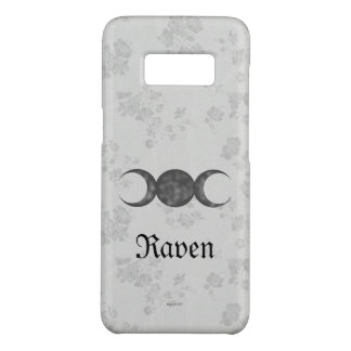 Gothic Eternal Triple Moon White Case-Mate Samsung Galaxy S8 Case