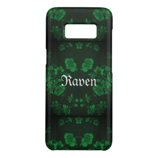 Gothic Eternal *Your Name* Green Case-Mate Samsung Galaxy S8 Case