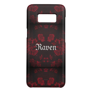 Gothic Eternal *Your Name* Red Case-Mate Samsung Galaxy S8 Case