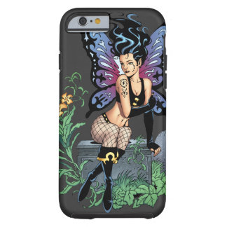 Gothic Fairy Grave Sitting with Tears by Al Rio Tough iPhone 6 Case