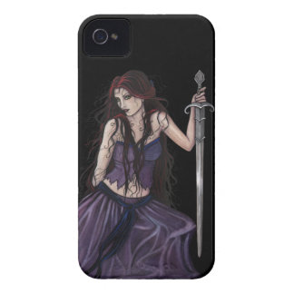 Gothic Fantasy Morgan Le Fay iPhone 4 Covers