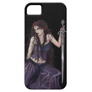 Gothic Fantasy Morgan Le Fay iPhone 5 Covers