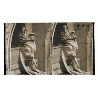 Gothic  gargoyle iPad folio cases