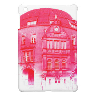 gothic german building digital effect red tint cover for the iPad mini