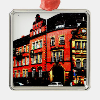 gothic german building mystic view metal ornament