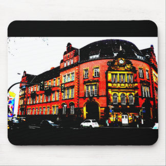 gothic german building mystic view mouse pad