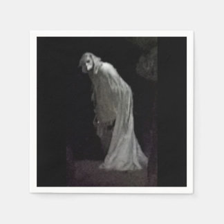 Gothic ghost paper napkin