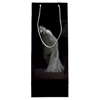 Gothic ghost wine bag