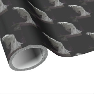 Gothic ghost wrapping paper