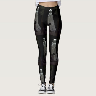 Gothic ghoul leggings