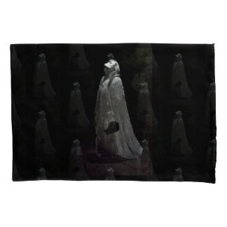 Gothic ghoul pillowcase