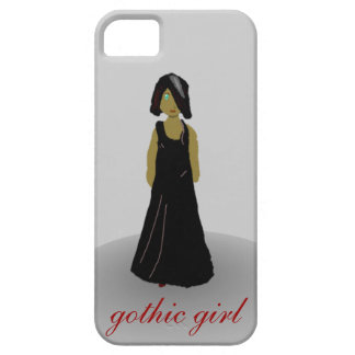 gothic girl iPhone 5 case