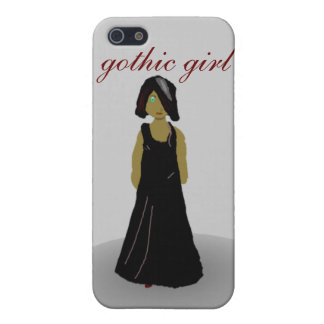 gothic girl iPhone 5 covers