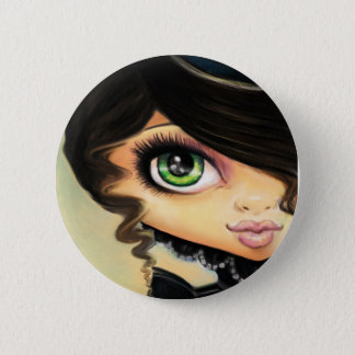Gothic Girl - Mina 6 Cm Round Badge