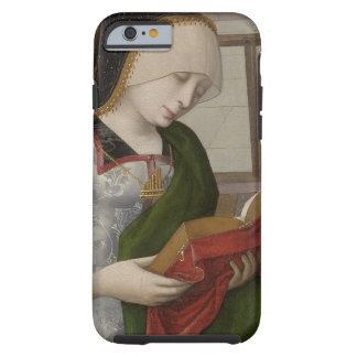 Gothic Girl Reading Book Tough iPhone 6 Case