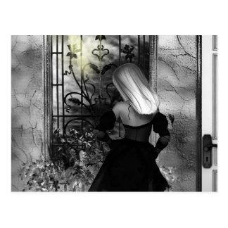 Gothic Girls Always Another Dawn Postcard
