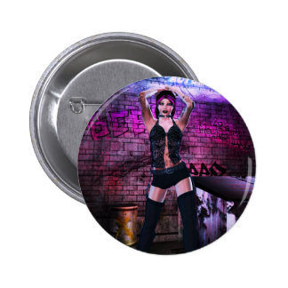 Gothic Girls Back Alley Babe Pins