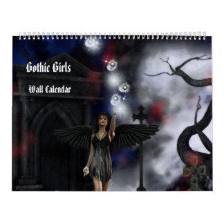 Gothic Girls Fantasy Art Calendar