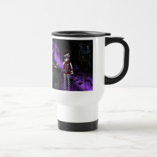 Gothic Girls Voo Doo Gone Wrong Travel Mug