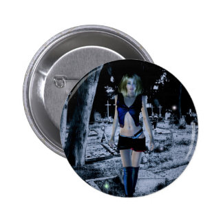 Gothic Girls Waking The Dead Pin