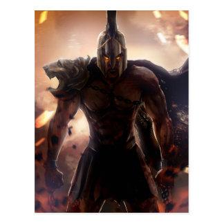 Gothic Gladiator Postcard